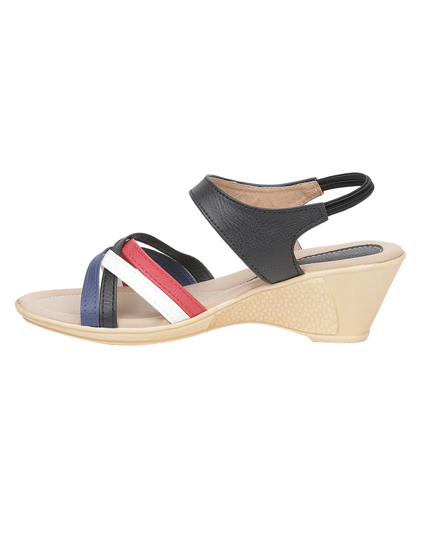 524de9a0dae Buy Multi Colored Back Strap Wedges for Women from Sindhi Footwear for ₹622  at 22% off