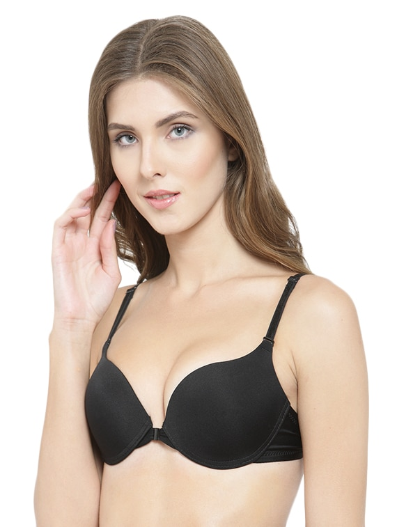 c64904226d888 Buy Front Open Detachable Push Up Bra by Prettycat - Online shopping for Bra  in India