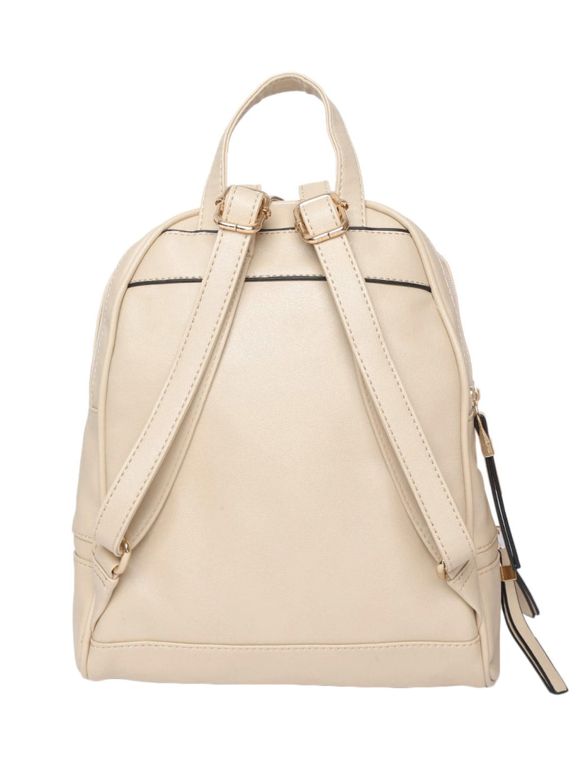 Buy Beige Leatherette (pu) Fashion Backpack for Women from Addons for ₹1853  at 47% off  0969925ac7b0a