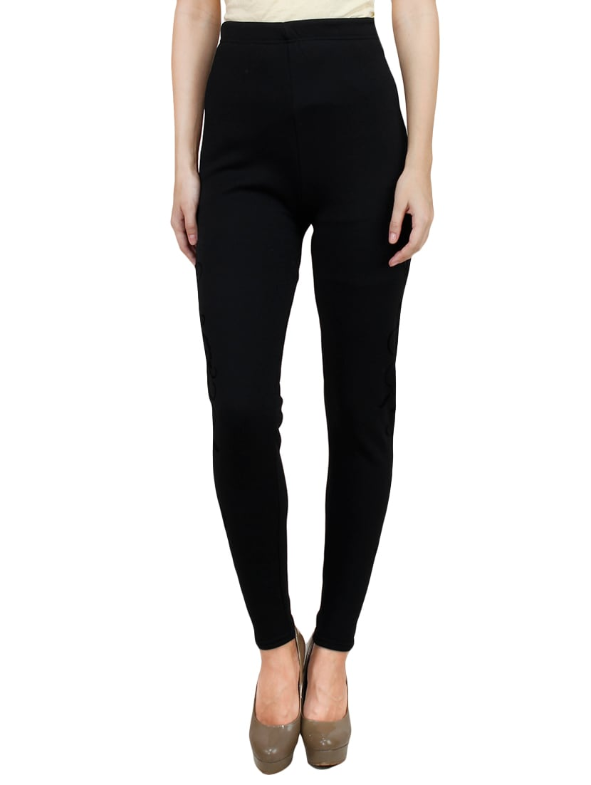 f6132489e51590 Buy High-rise Woolen Printed Leggings for Women from Camey for ₹892 at 53%  off   2019 Limeroad.com