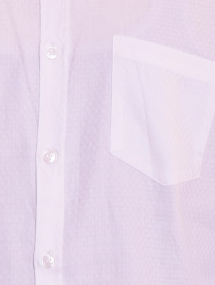white solid casual shirt - 15815689 - Standard Image - 4