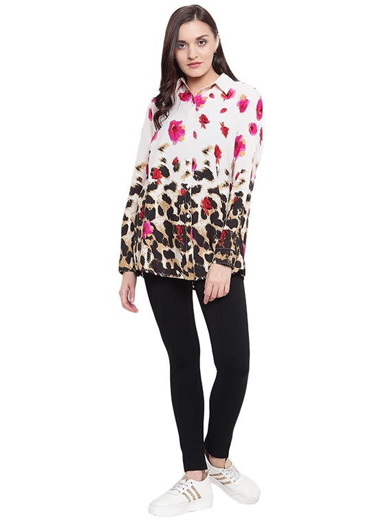 872108d523 ... floral animal print shirt - 15818444 - Zoom Image - 4