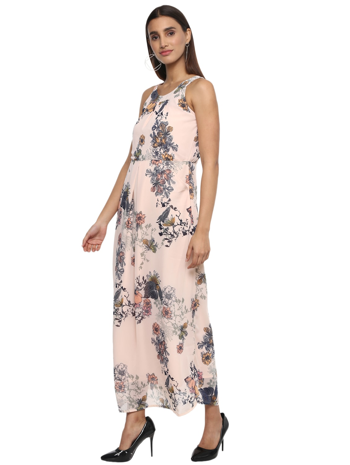 a440cf11b6f Buy Floral Pleated Maxi Dress for Women from D amor for ₹1342 at 36% off