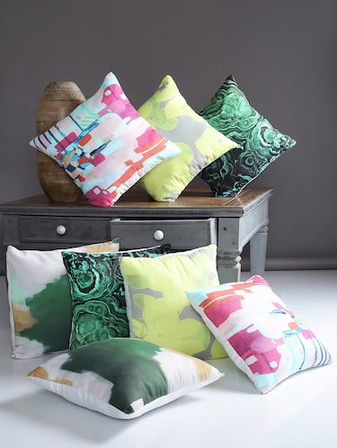 Alina Decor Set Of 8 Cushion covers - 15828139 - Standard Image - 1