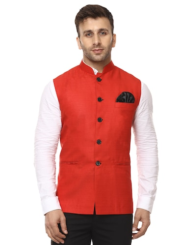 1cf41f941f26f9 Buy octave jackets sleeveless in India   Limeroad