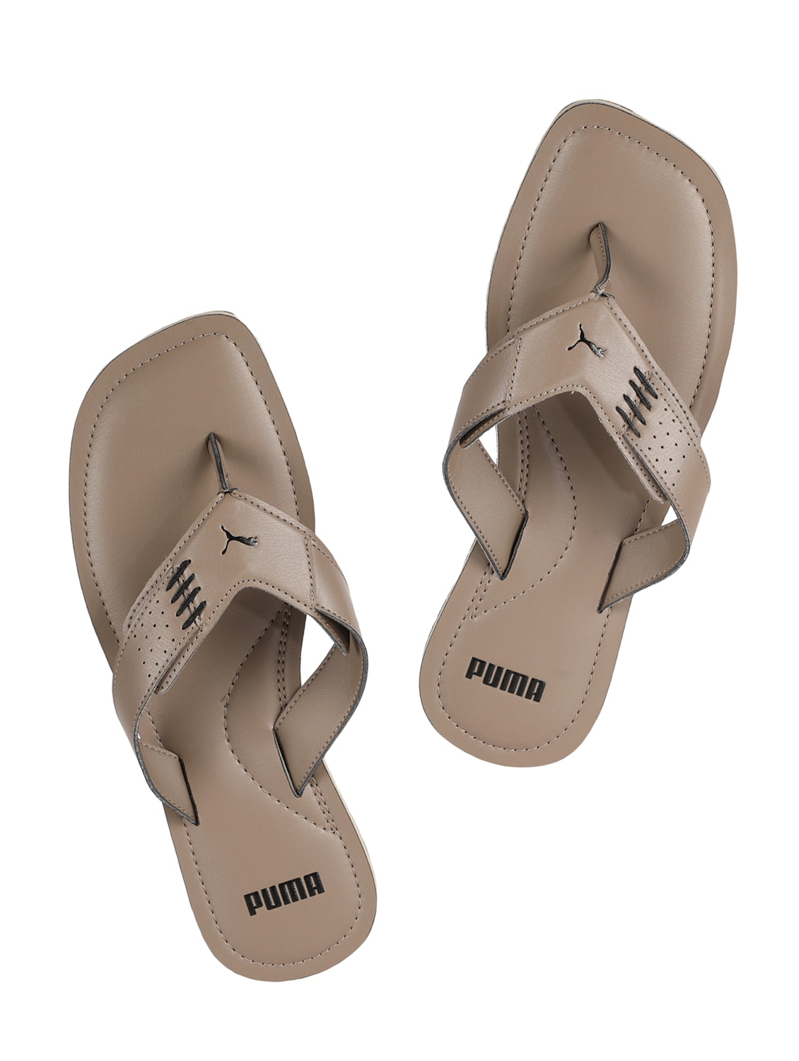 35461d164277 Buy Brown Synthetic   Mesh Toe Separator Flip Flops for Men from Puma for  ₹1613 at 5% off