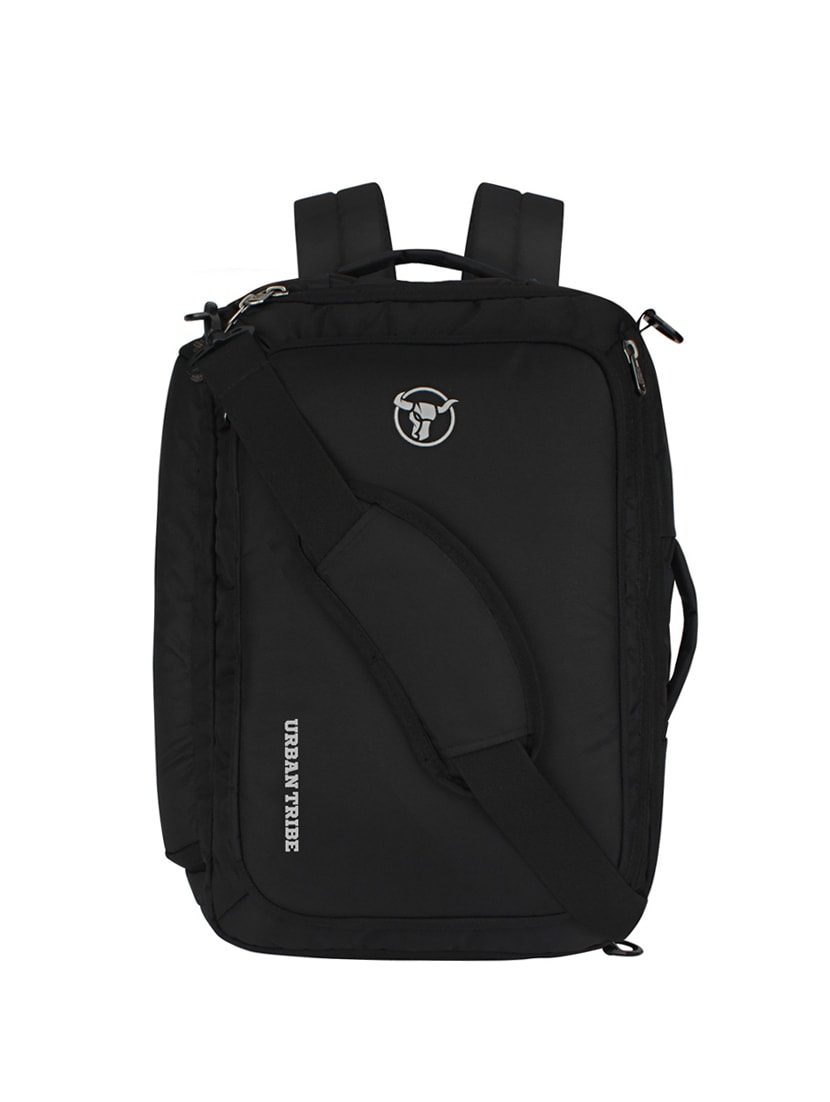 Buy Black Polyester Backpack by Urban Tribe - Online shopping for Backpacks  in India  4ebb18c68e4b7