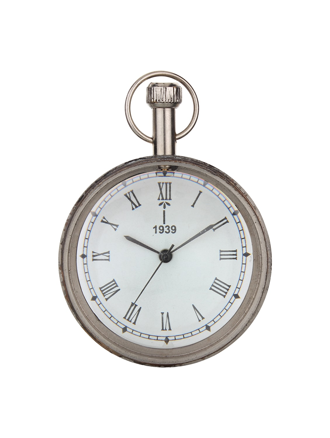 5225d4601 Buy Nickel Finish Retro Desk Clock for Unisex from Wrap Your Wish for ₹1199  at 8% off