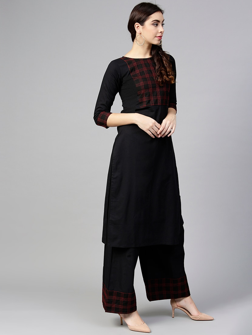 0cd568721 Buy Yoke Design Kurta With Palazzo Set for Women from Aasi - House Of Nayo  for ₹976 at 61% off
