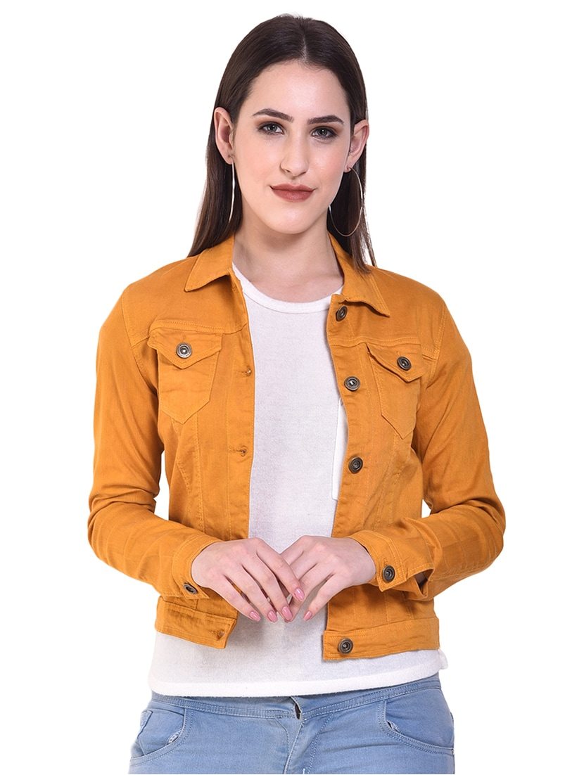 the cheapest los angeles best choice Buy online Button-up Denim Jacket from jackets and blazers and ...