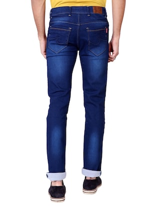 multi colored denim washed jeans - 15863361 - Standard Image - 4