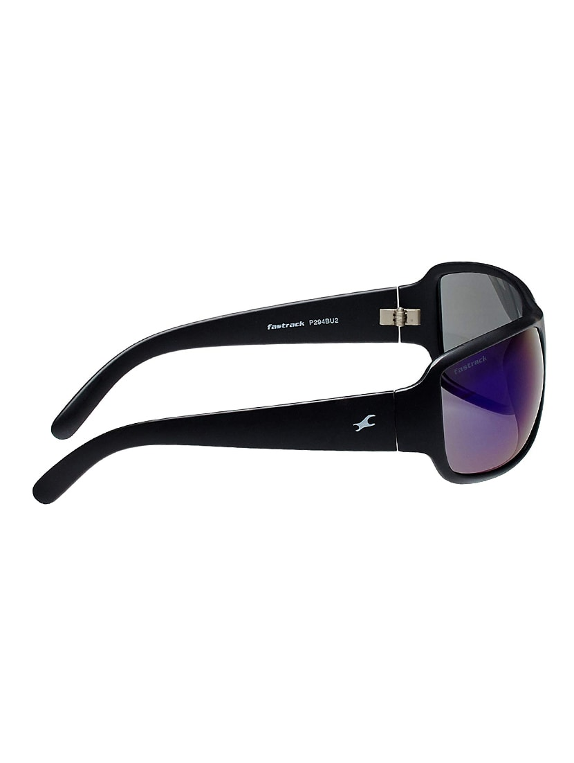 ecf39bd49d Buy Uv Protected Wrap Around Sunglasses (p294bu2) by Fastrack - Online  shopping for Men Sunglasses in India