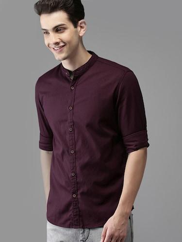 c892d7f39b Casual Shirts - Buy Linen   Denim Casual Shirts for Men at Limeroad