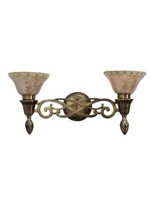 Sweeping Scroll Double Wall Sconce Lamp - 15882742 - Standard Image - 4