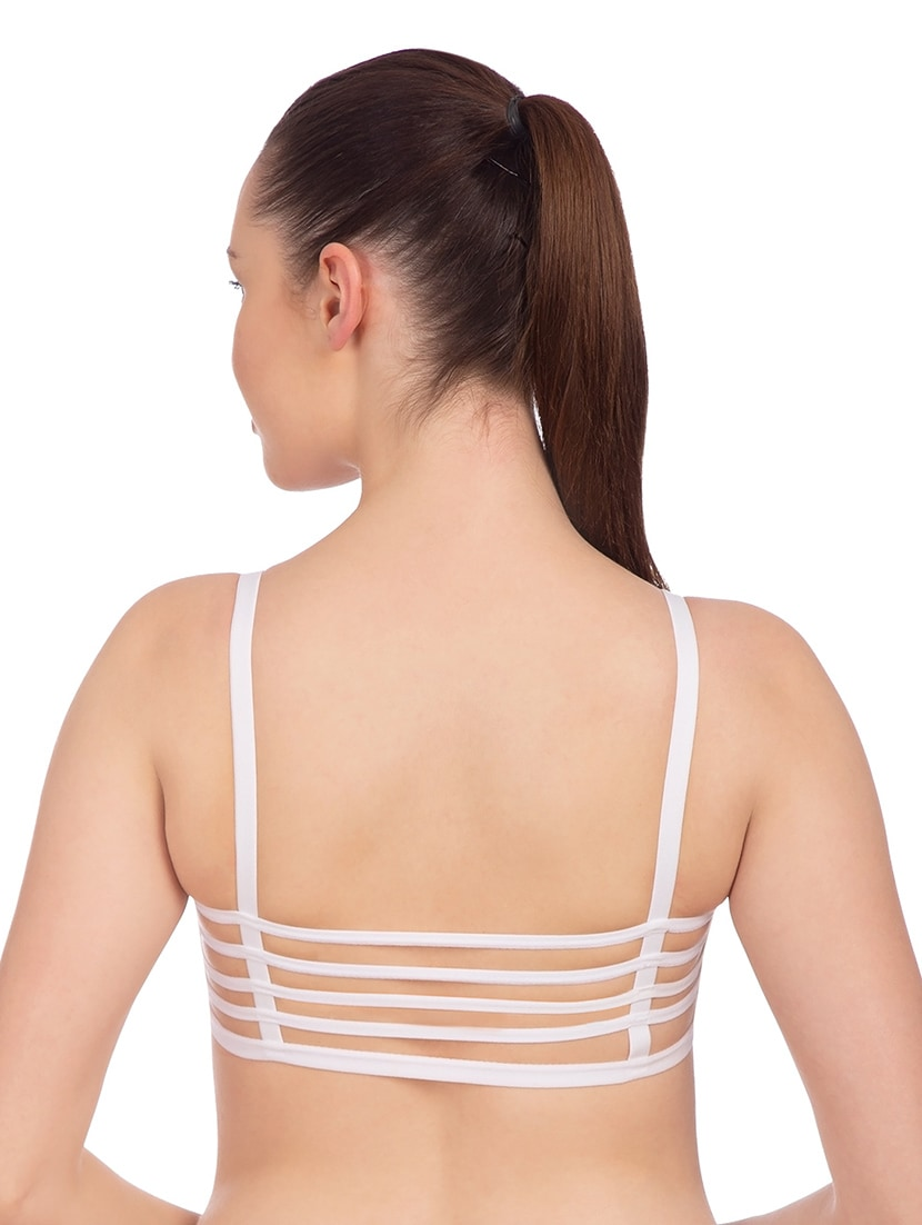 d3ee1a7a77 Buy Set Of 2 White Bralettes for Women from Komli for ₹540 at 0% off