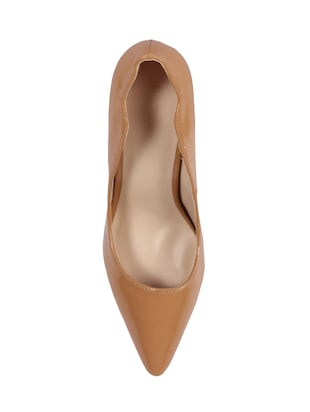 brown slip on pumps - 15905829 - Standard Image - 4