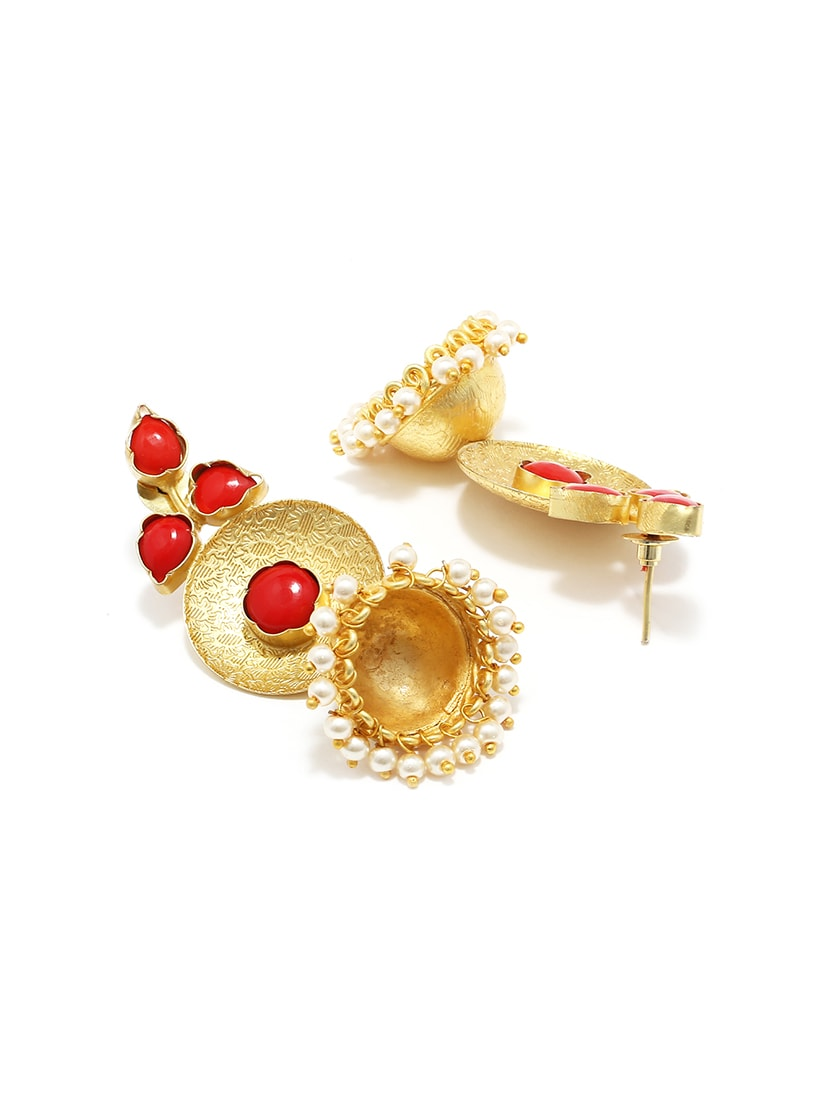 Buy Online Gold Jhumka Earring From Fashion Jewellery For Women By