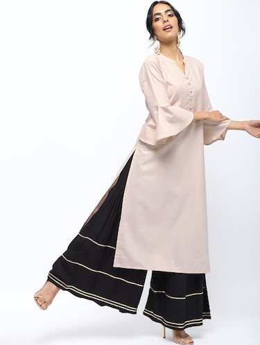 9b4638e184ff Buy Gold Top And Black Maxi Skirt Set for Women from Truebrowns for ₹3999  at 0% off | 2019 Limeroad.com