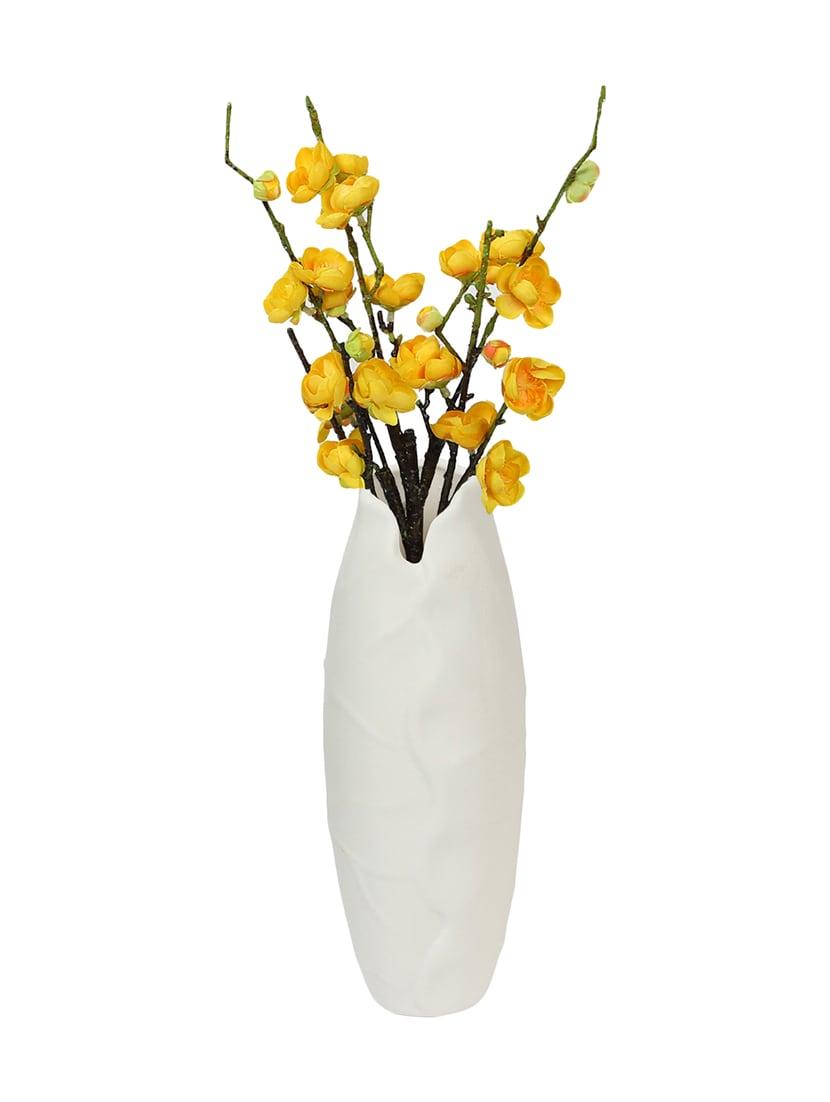 sc 1 st  Limeroad & Elegent White Ceramic Flower Vase