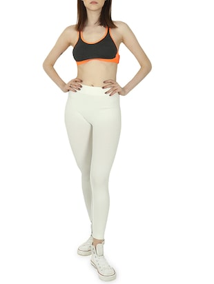 high rise ankle length legging - 15942470 - Standard Image - 4