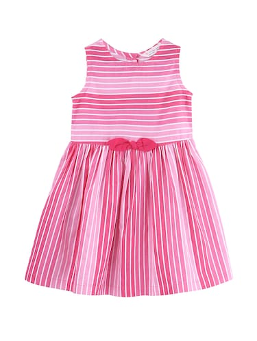 pink cotton frock - 15958253 - Standard Image - 1