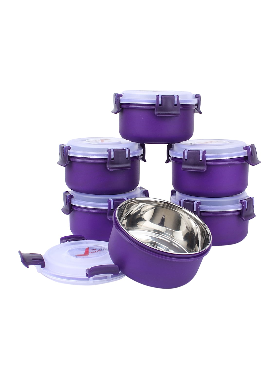 Buy lock lock airtight leakproof containers for office home kitchen set of 6 for unisex from homeish for ₹840 at 35 off 2019 limeroad com
