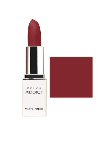 Me-On Color Addict Matte Lipstick (4g)Shade#11 (maroon) - 15969988 - Standard Image - 1