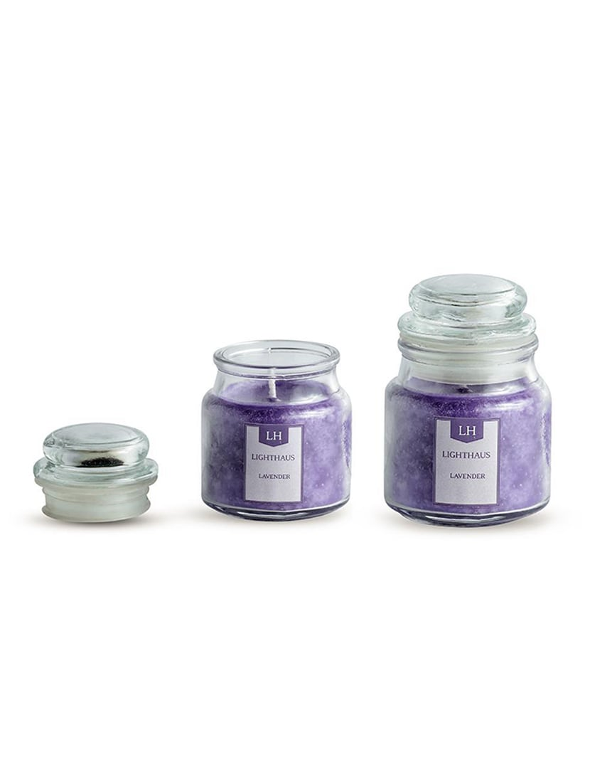 6b8bab2881 Buy Set Of 2 Classic Jar Scented Candle Lavender Aroma By Lighthaus Candle  for Unisex from Lighthaus for ₹229 at 62% off | 2019 Limeroad.com