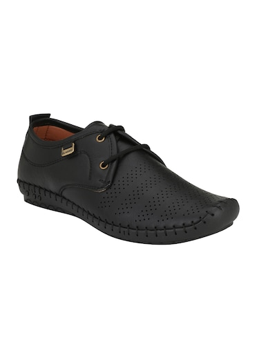 11a19fb05adf Buy Black Leatherette Lace Up Shoe for Men from Emosis for ₹1099 at ...