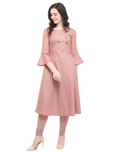 b3576fb0ebf Pink Kurtas- Buy Short Silk Kurta