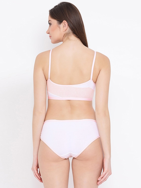 54b459b7d6ac Buy Cami Neck Bras And Panty Set for Women from Clovia for ₹550 at 58% off  | 2019 Limeroad.com
