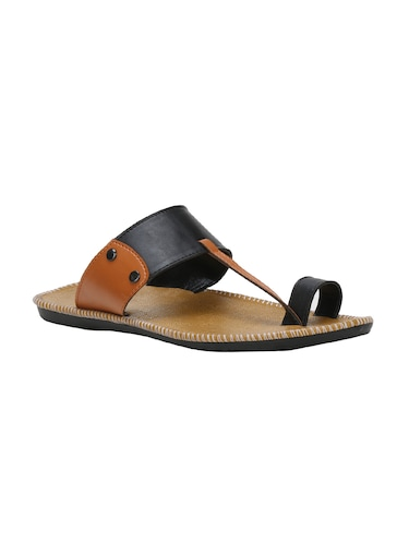 58b17030a550 Slippers   Flip Flops for Men - Buy Leather Slippers Online in India