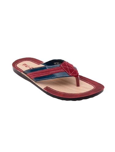 1bd7f53fb Slippers   Flip Flops for Men - Buy Leather Slippers Online in India