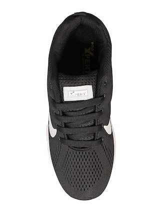 black Mesh sport shoes - 16098444 - Standard Image - 4