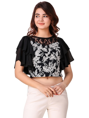 015f7e6005c9fa Crop Tops for Girls - Buy Designer Crop Top Online