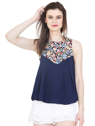 244db0a0c2947 Sleeveless tops - Buy Sleeveless tops Online at Best Prices in India ...