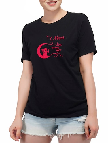 a69738de2 Black t shirt - Buy Black t shirt Online at Best Prices in India ...