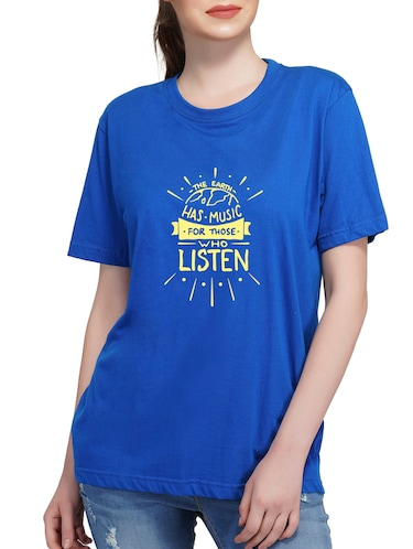 356300c1 T Shirts for Women - Upto 70% Off | Buy Womens Designer Printed T Shirts at  Limeroad