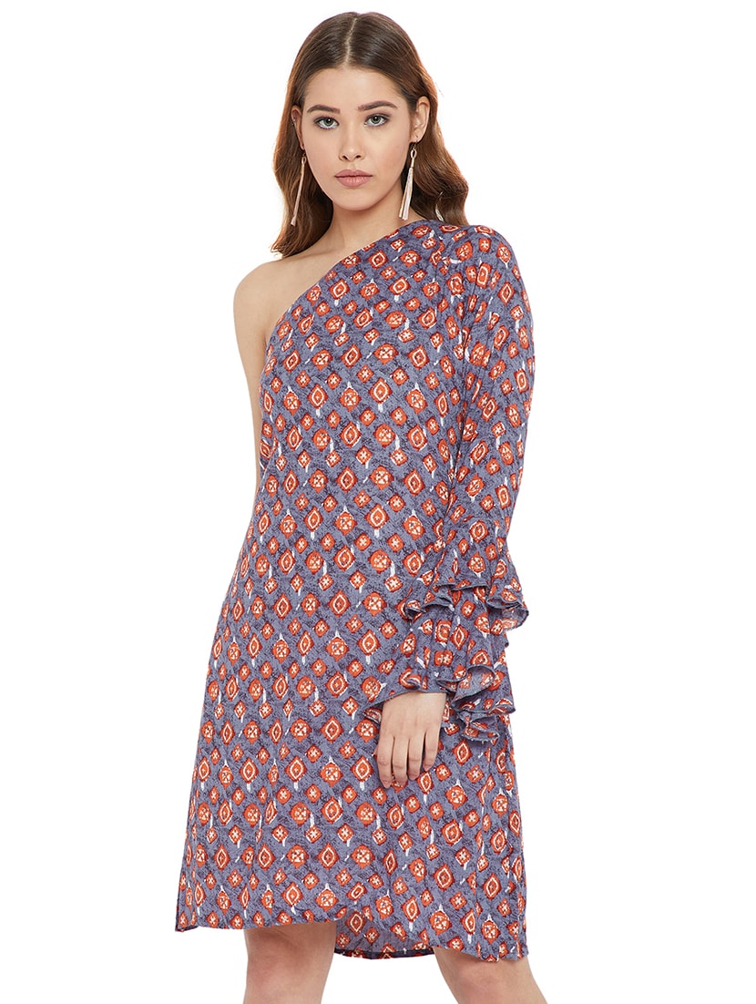 f7c6c39fb5 Single Shoulder A Line Dress For Women From Purys 779 At 61 Off 2019  Limeroad