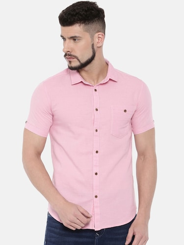 Casual Shirts - Buy Linen & Denim Casual Shirts for Men at Limeroad