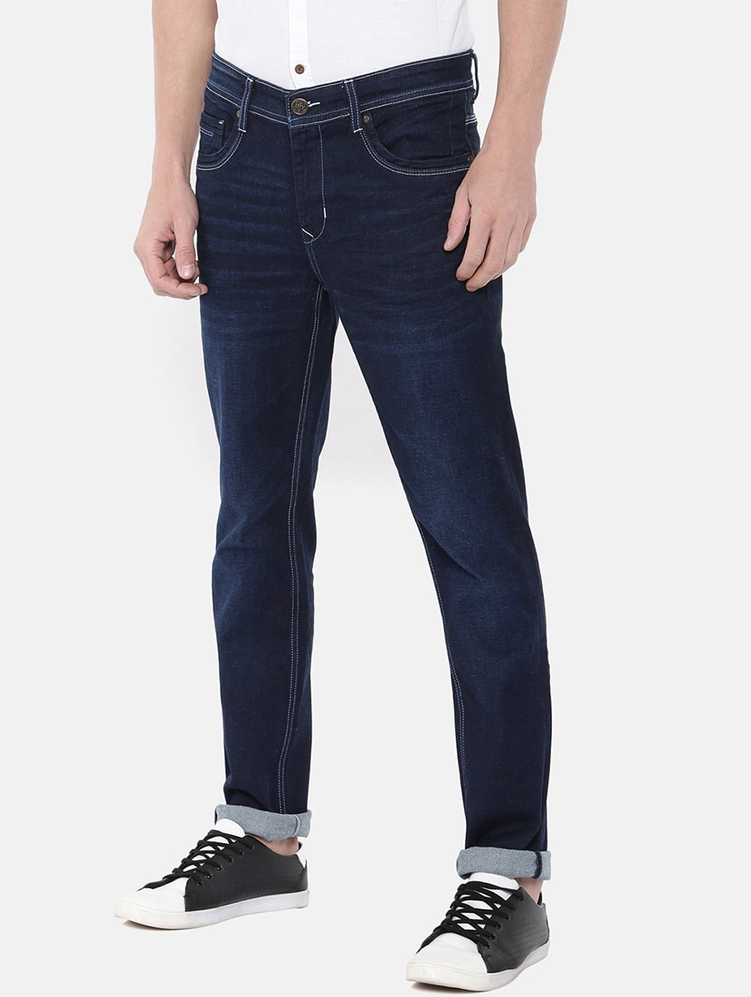 d82d8066de6 Buy Blue Denim Light Washed Jeans for Men from Im Young for ₹1535 at 47%  off