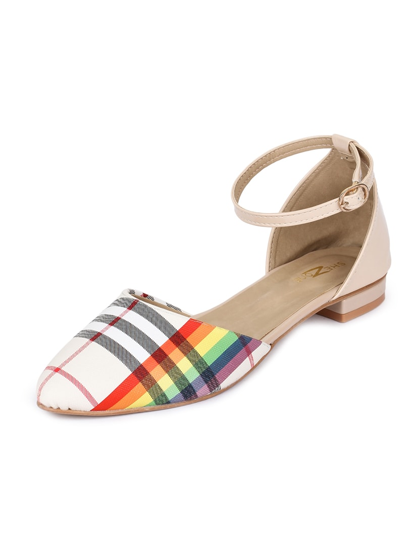 7af1a76a23f7 Buy Multi Colored Ankle Strap Sandals for Women from Shezone for ₹799 at 0%  off