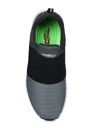 grey mesh sport shoes - 16191086 - Standard Image - 4