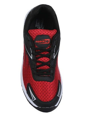 red mesh sport shoes - 16191168 - Standard Image - 4