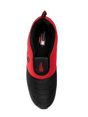 red mesh sport shoes - 16191317 - Standard Image - 4