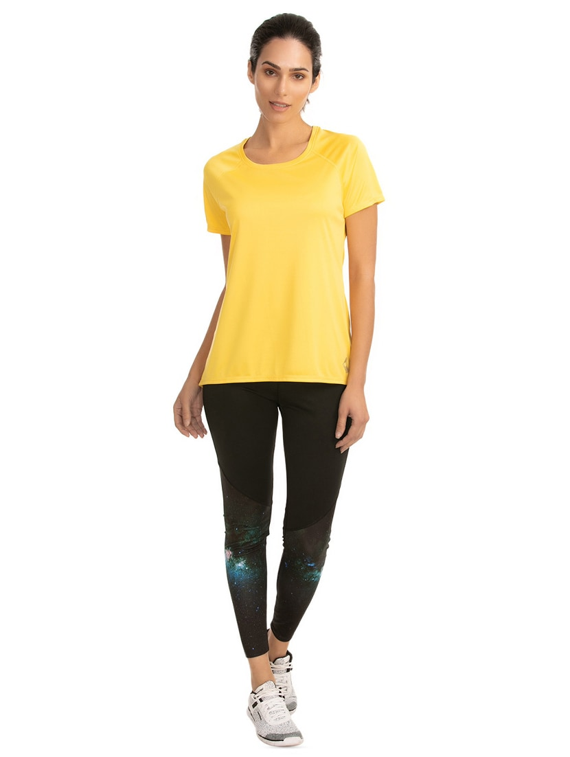 8626296d25c00e Buy Raglan Sleeved Solid Tee for Women from Zelocity By Zivame for ...