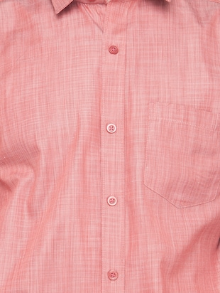 red solid casual shirt - 16221487 - Standard Image - 4