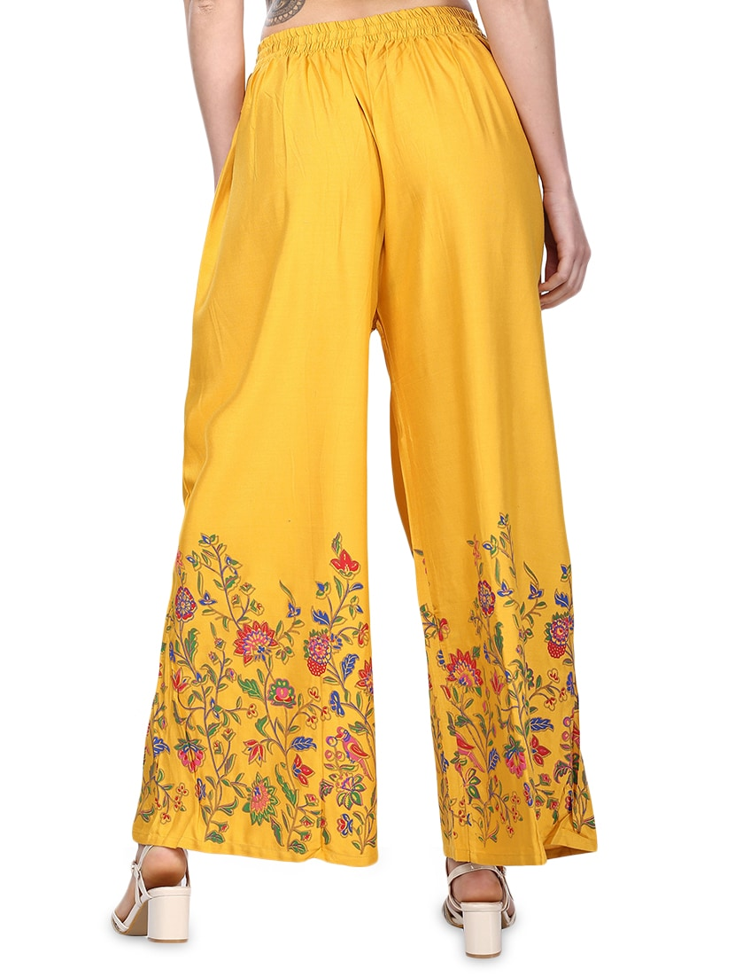 283e47a8ac Buy Floral Flared Palazzo for Women from Fabrify for ₹339 at 62% off | 2019  Limeroad.com