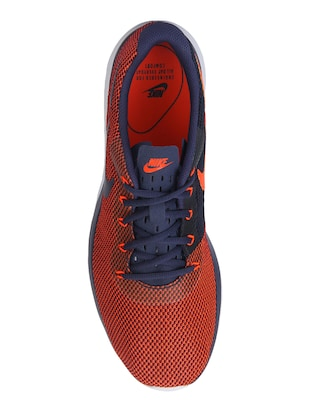 red fabric sport shoes - 16237857 - Standard Image - 4