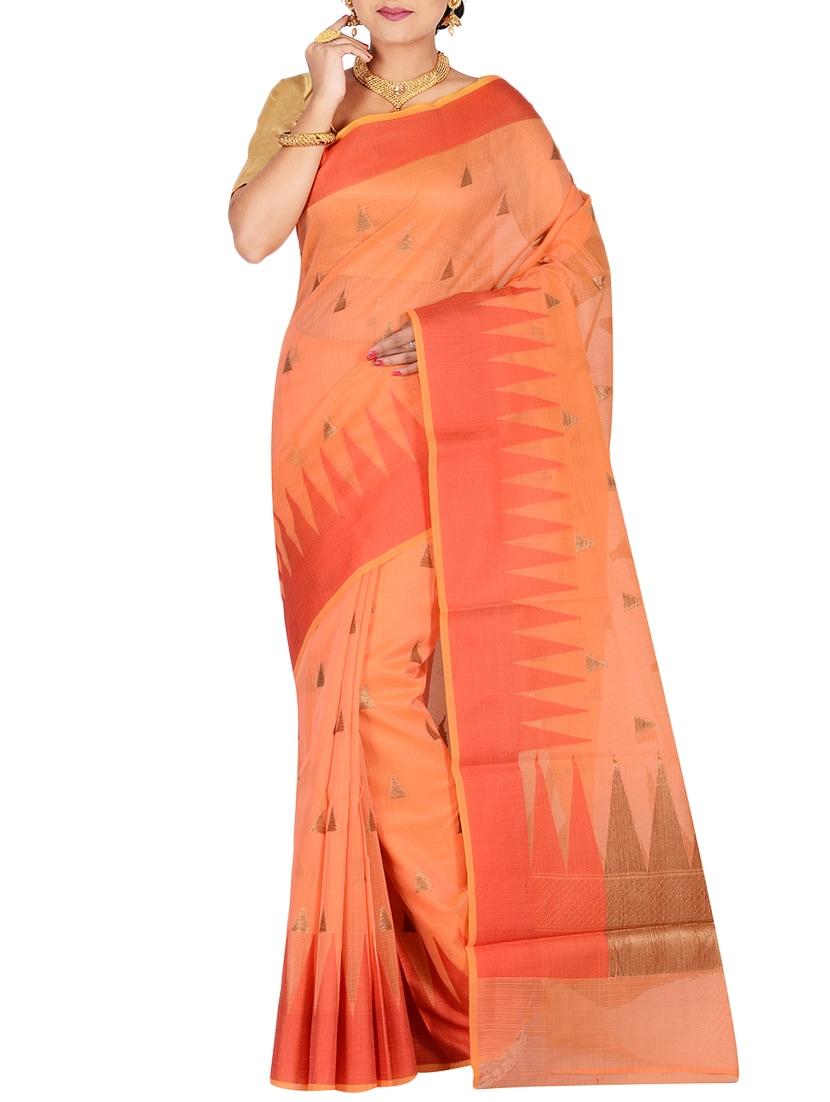bc11706c8 Buy Geometrical Woven Saree With Blouse for Women from The Indian Silk for  ₹1830 at 50% off
